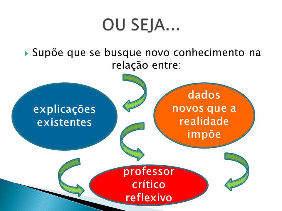 Teoria : capacidade própria de elaboração Prática: capacidade de recriar teoria e de unir saber & mudar.