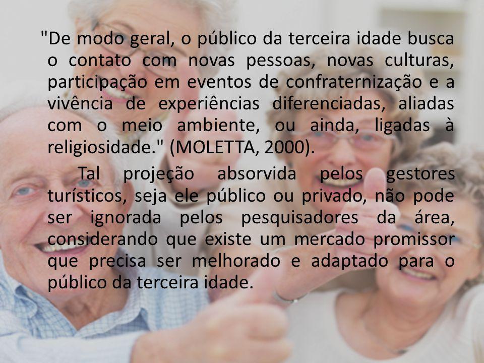 O Ministério da Saúde lançou o programa Viaja mais melhor idade, que dá vantagens especiais para os maiores de 60 anos viajarem por todo o Brasil.