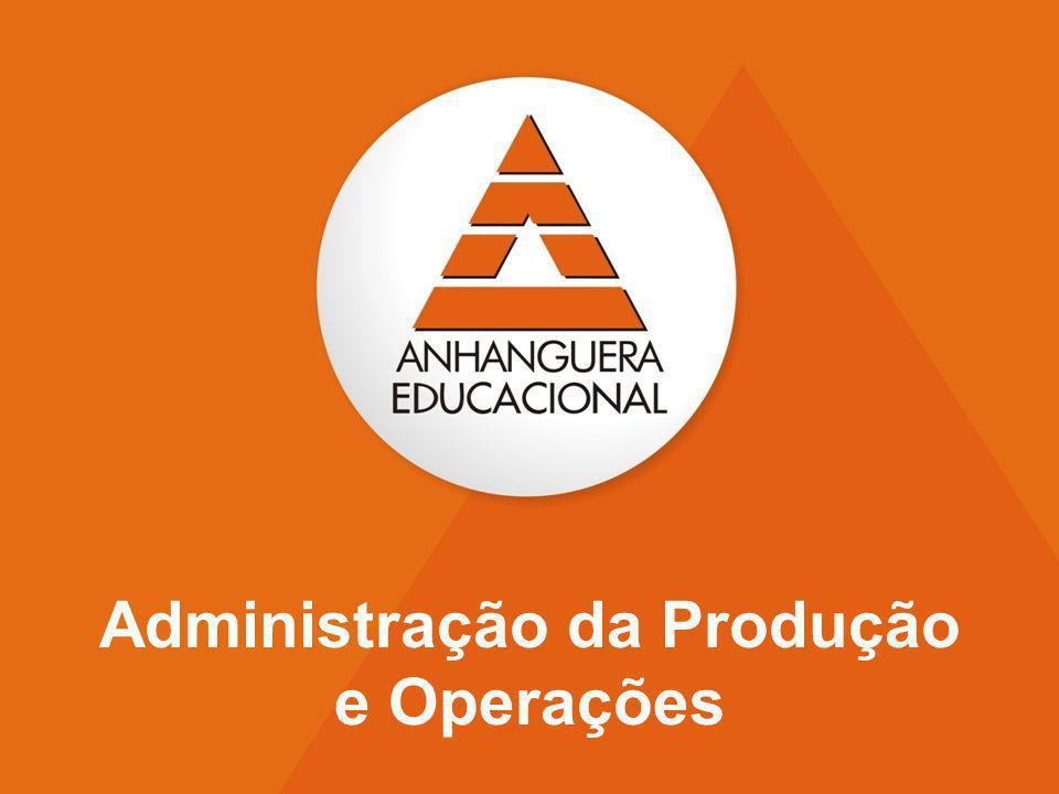 1 Administração da Produção e Operações