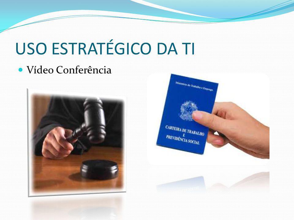 USO ESTRATÉGICO DA TI Vídeo Conferência