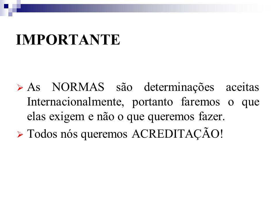 LISTA DOS ITENS PALC – VERSÃO 2004 1) Organização Geral - 4 2) Segurança Ambiental e Biossegurança - 4 3) Gestão da Qualidade - 10 4) Documentação da