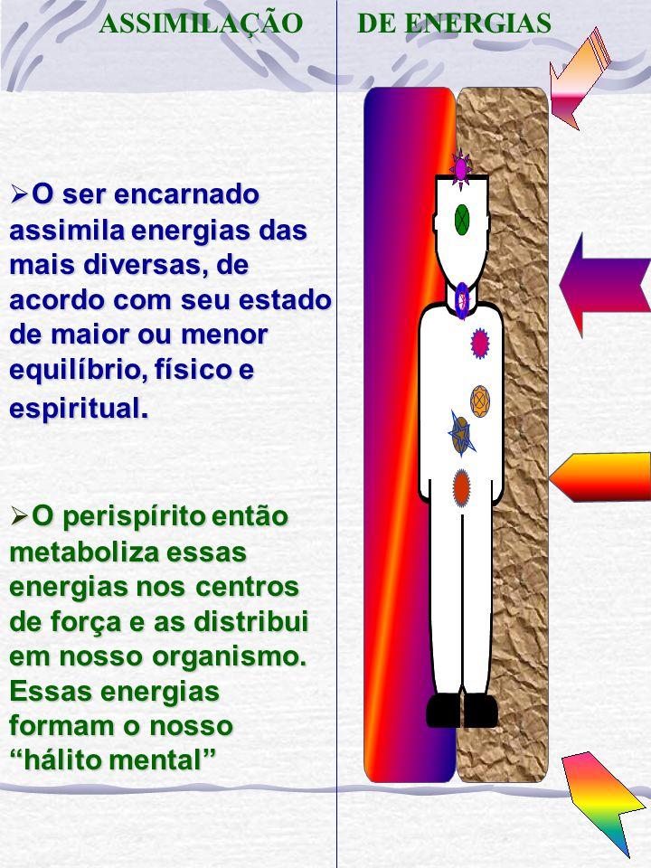 CONSEQÜÊNCIAS DO REGISTRO ENERGÉTICO O registro energético em nosso perispírito pode ter conseqüências físicas, psíquicas e espirituais, dependendo da