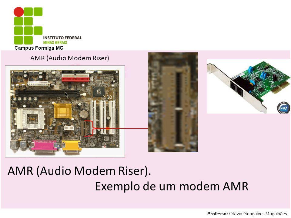Professor Otávio Gonçalves Magalhães Campus Formiga MG AMR (Audio Modem Riser). Exemplo de um modem AMR AMR (Audio Modem Riser)