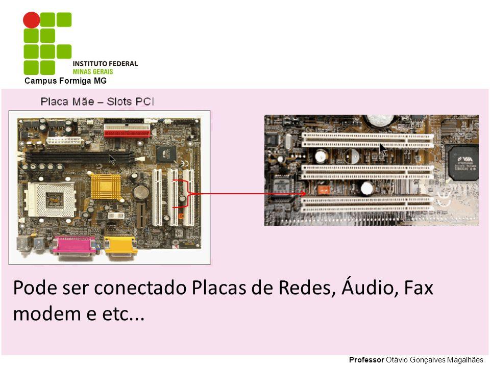 Professor Otávio Gonçalves Magalhães Campus Formiga MG ATX12V: Conector principal de 20 pinos.