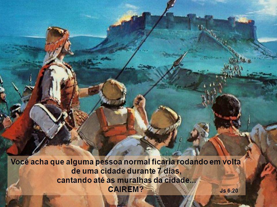 Você acha que alguma pessoa normal ficaria sentada dentro de uma jaula com LEÕES FAMINTOS? Daniel 6:16