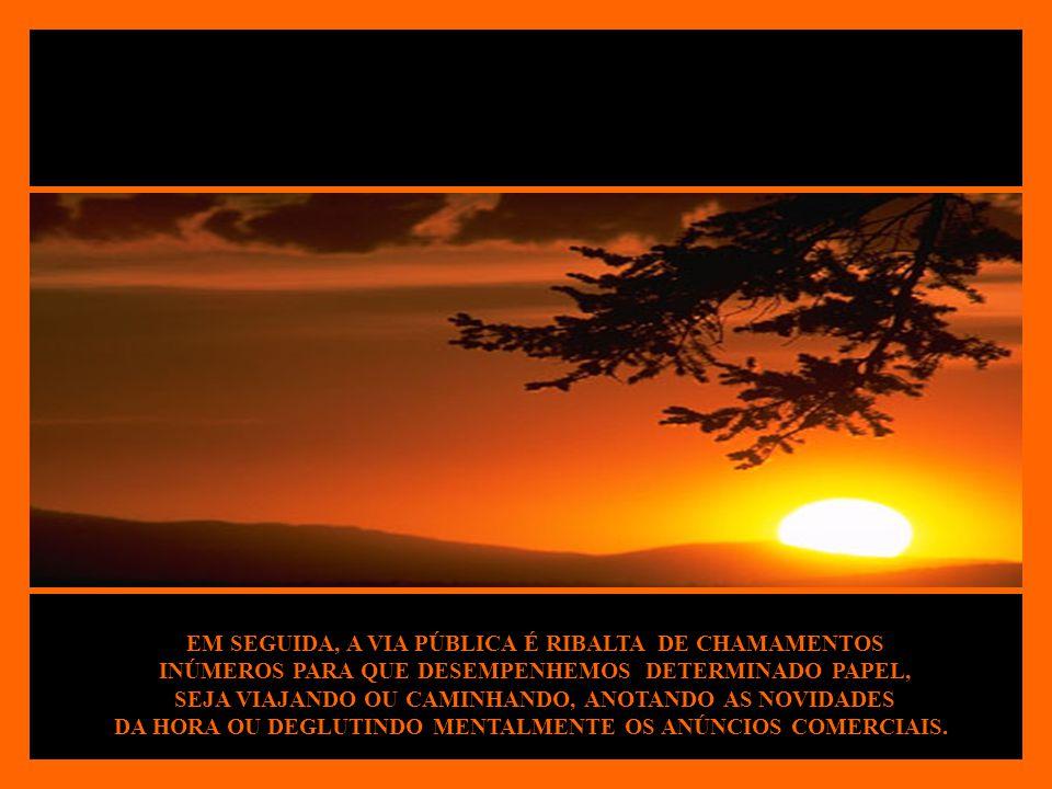 LOGO APÓS, FREQUENTEMENTE, PASSAMOS ÀS INDUÇÕES DA IMPRENSA OU DO RÁDIO, ESPOSANDO-LHE OS CONCEITOS QUANDO LHES DISPENSAMOS ATENÇÃO.