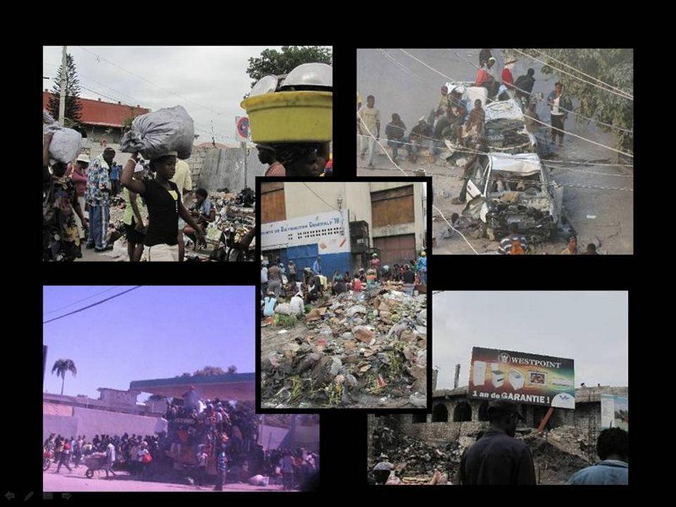 15/01 – 12:30 A polícia local controla o mercado Caribbean Tamanho dele – 4.300m²
