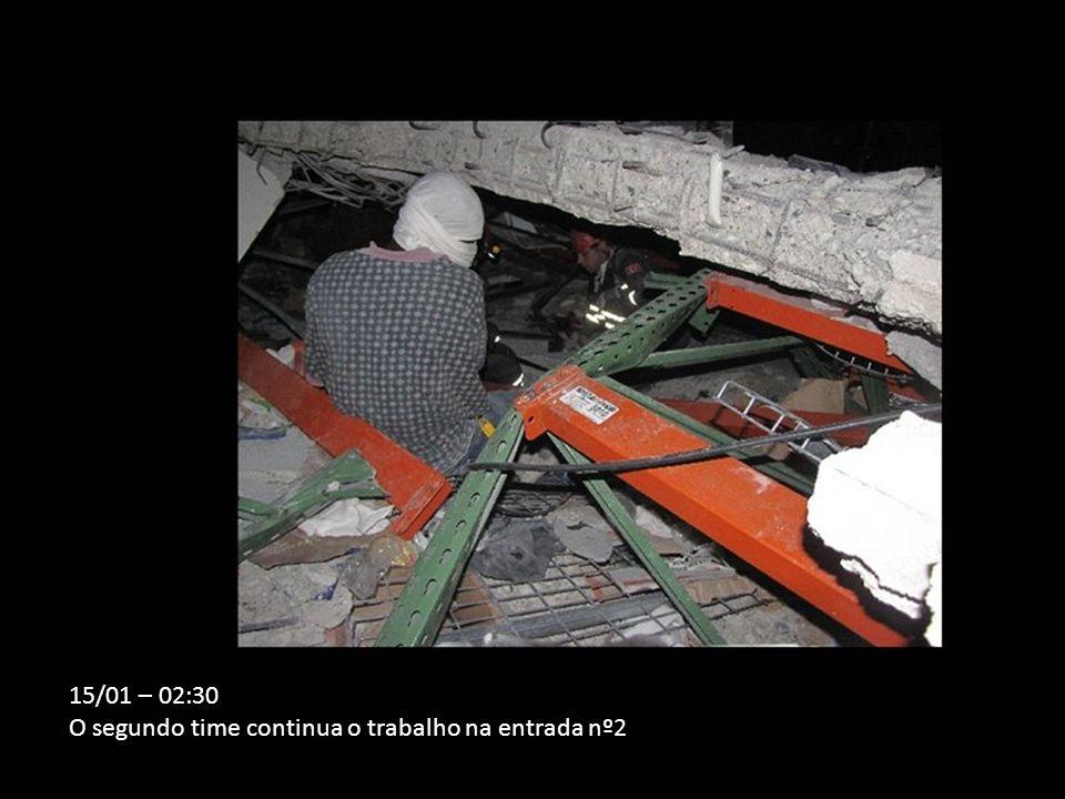 19/01 – 11:00 O time se despede de todos participantes da operação e parte do local