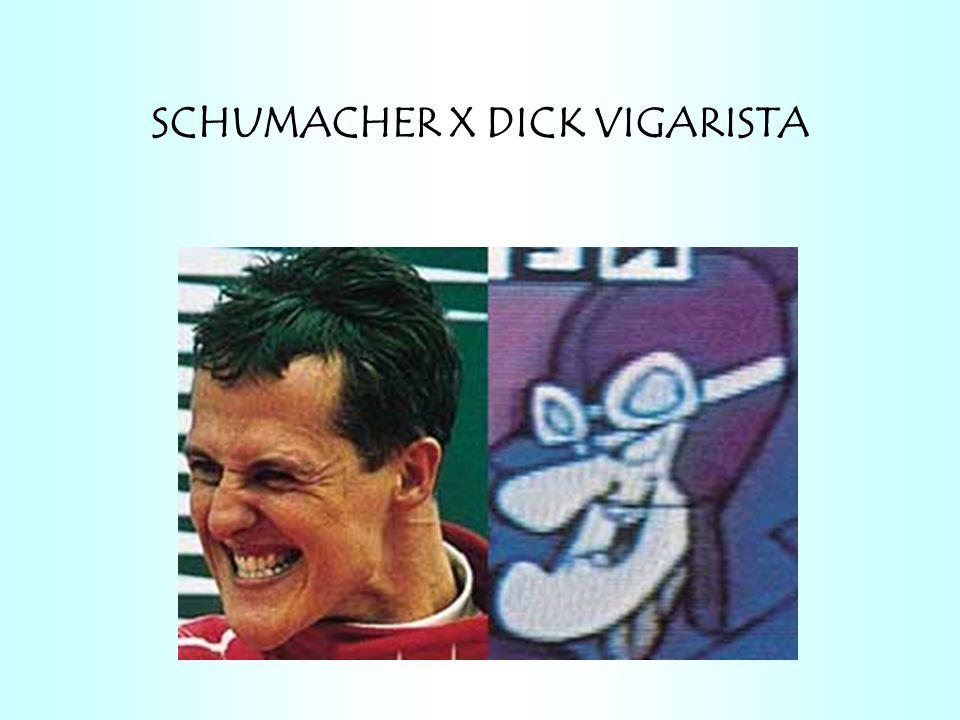SCHUMACHER X DICK VIGARISTA