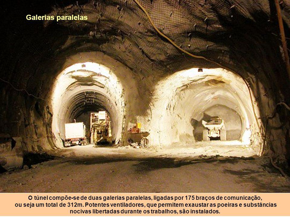 Com explosivos Quando o tunnelier encontra um obstáculo geológico, tem que recorrer a explosivos e aos