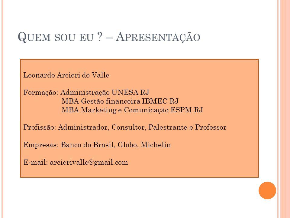 ADMINISTRAÇÃO DE SERVIÇO A ULA - IV A gestão da qualidade das atividades de linha de frente e o pricing em serviços;