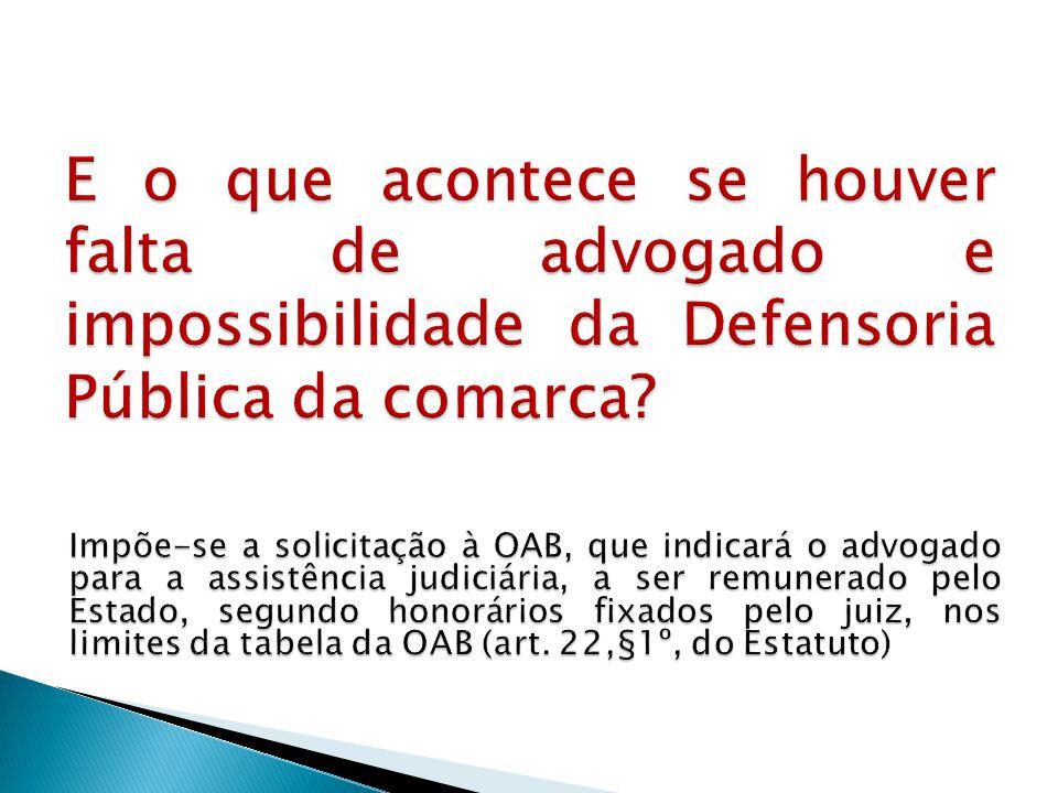 §1º Não se inclui na atividade privativa de advocacia a impetração de Habeas Corpus em qualquer instância ou tribunal.