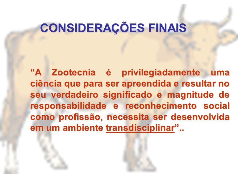 Proposta de Criação do Conselho Federal e Regionais de Zootecnia (CFZ/CRZ) Proposta de Criação do Conselho Federal e Regionais de Zootecnia (CFZ/CRZ):