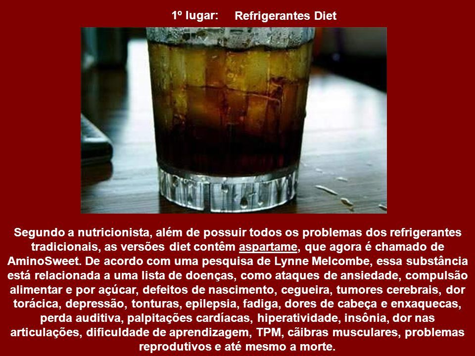 Refrigerantes Diet