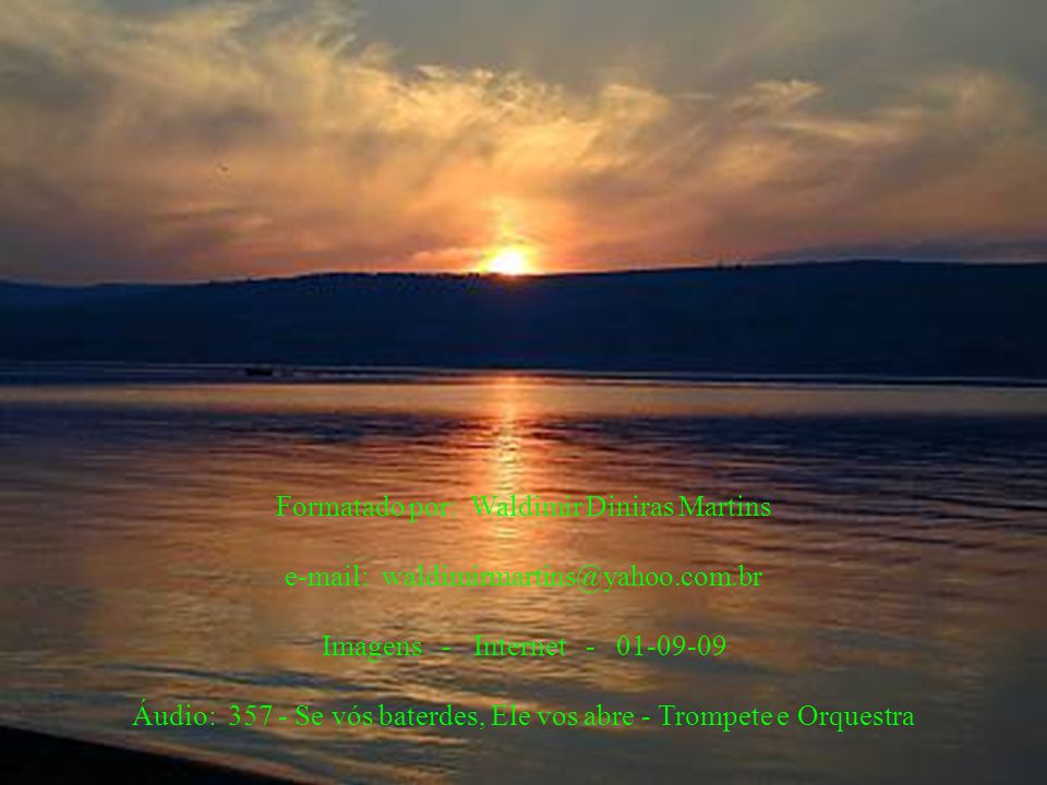 Jesus ressuscitou e permaneceu 40 dias na região da Galiléia. Foi elevado ao Céu, depois das últimas instruções aos apóstolos... E, chegando-se Jesus,