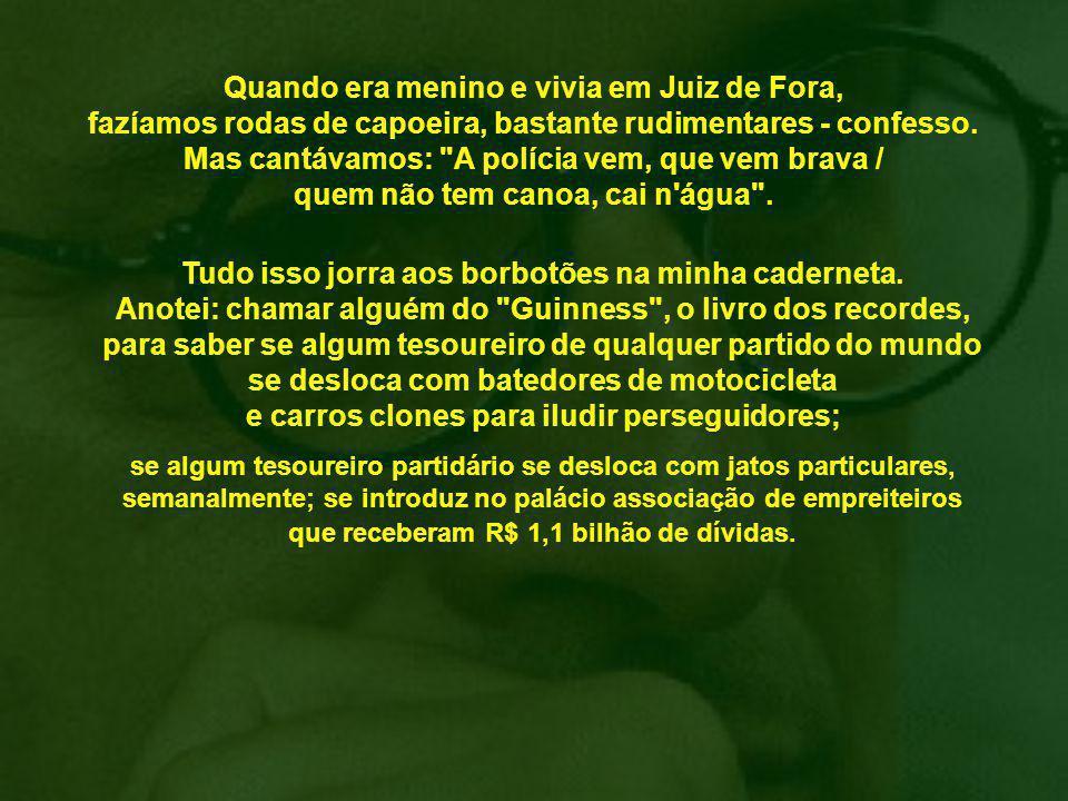 Ditadura e governo Lula compartilham o mesmo desprezo pela democracia, ambos violentaram-na, reduzindo o Parlamento a uma ruína moral.