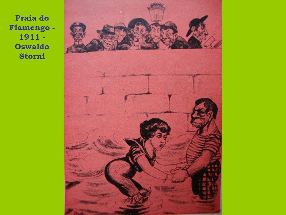 Praia do Flamengo - 1911 - Oswaldo Storni