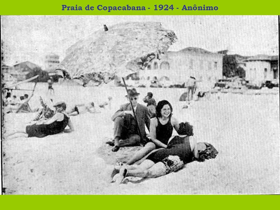Praia de Copacabana - 1924 - Anônimo