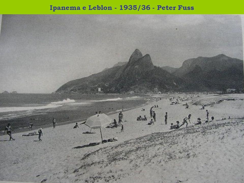 Ipanema e Leblon - 1935/36 - Peter Fuss