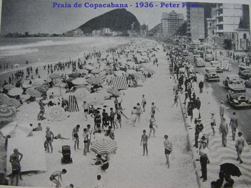 Praia de Copacabana - 1936 - Peter Fuss