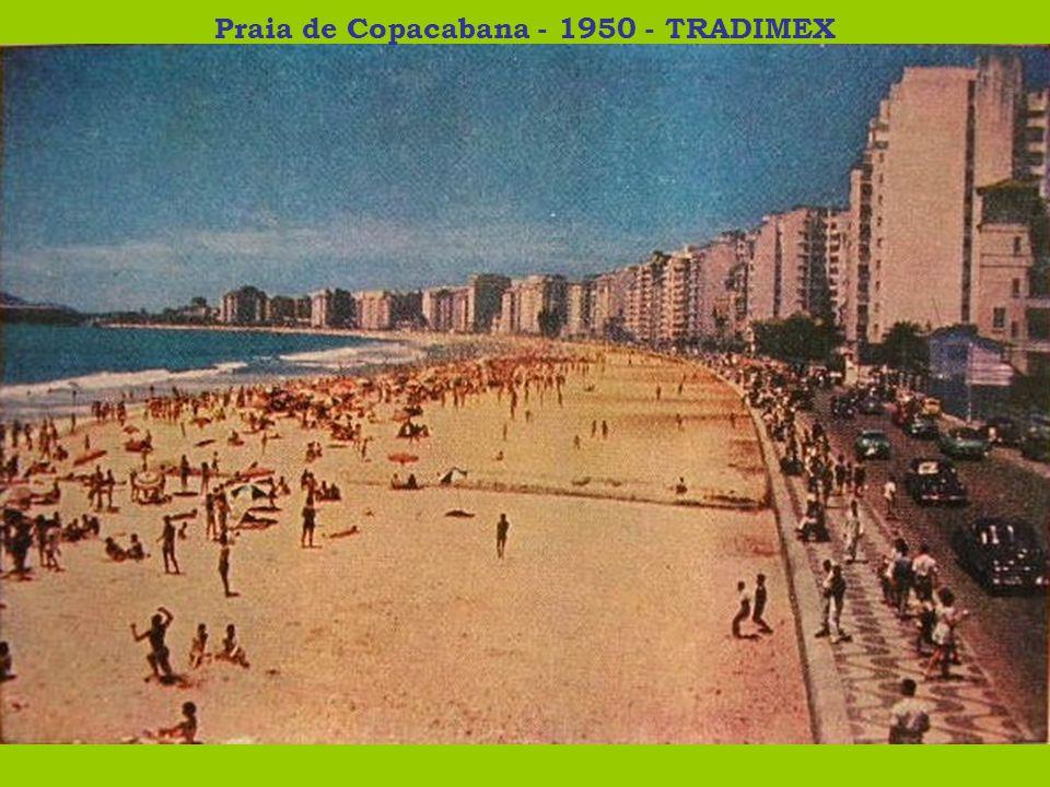 Praia de Copacabana - 1950 - TRADIMEX
