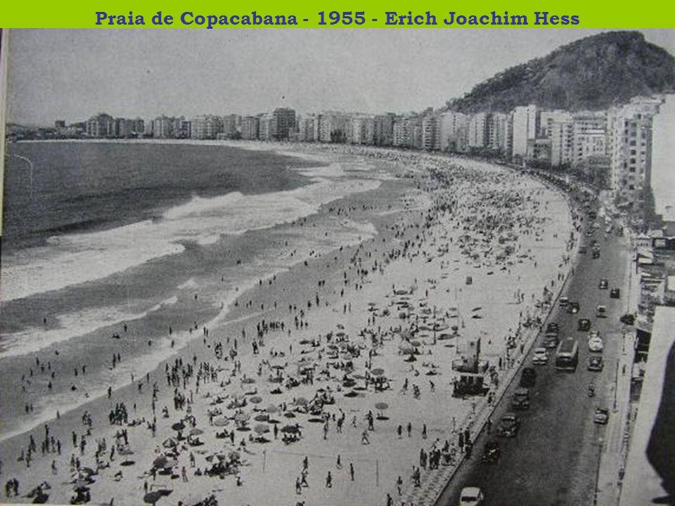 Praia de Copacabana - 1955 - Erich Joachim Hess