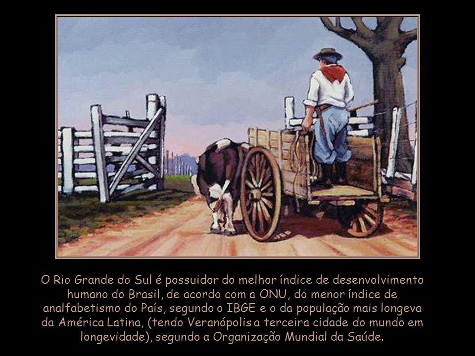 Esse regionalismo exacerbado costuma criar problemas de imagem para os gaúchos, sempre acusados de se sentir superiores ao resto do País.