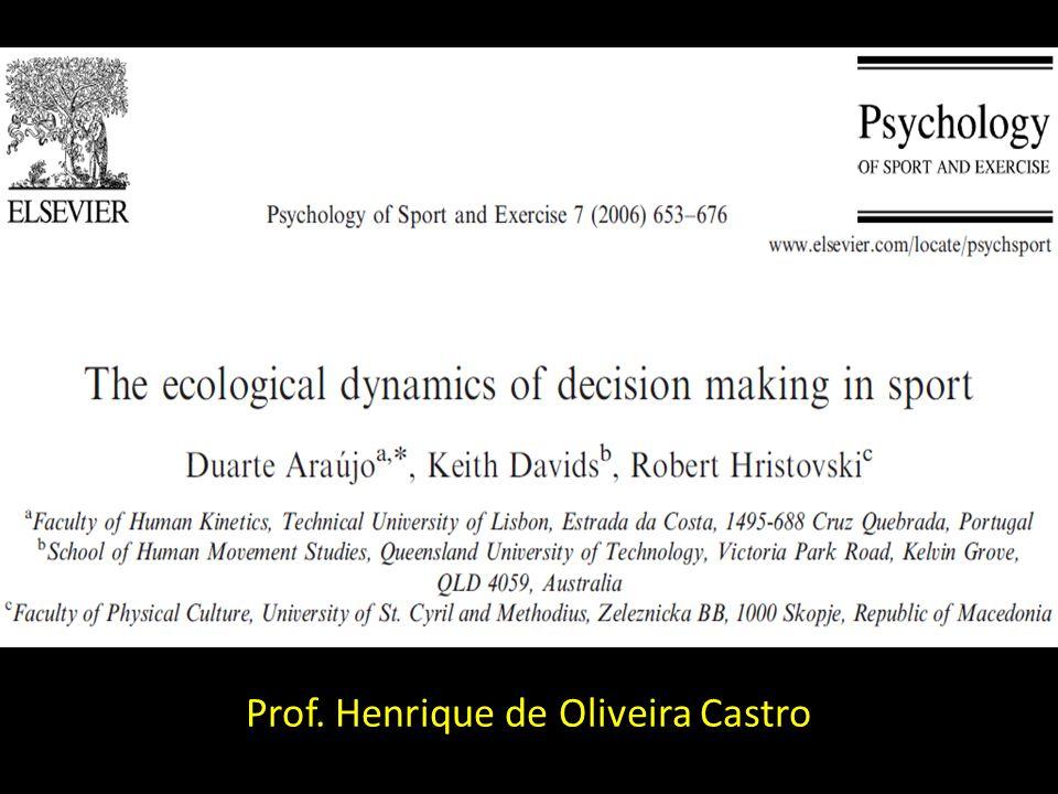 Prof. Henrique de Oliveira Castro