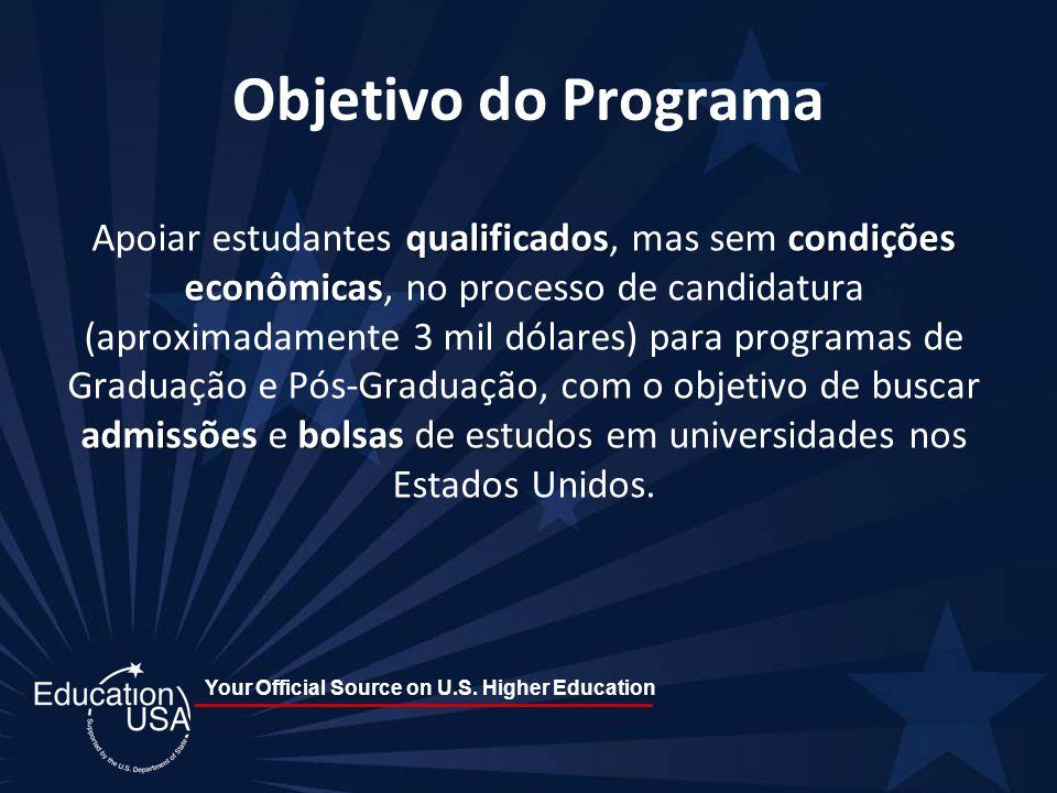 Your Official Source on U.S.Higher Education Fique Ligado!!.