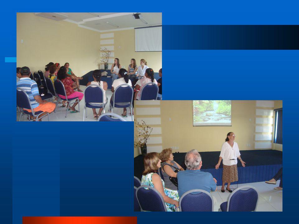 GRUPO DE PAIS RESULTADOS Grupo unido, com formação de vinculo Confiança Boas discussões Bom retorno das participantes
