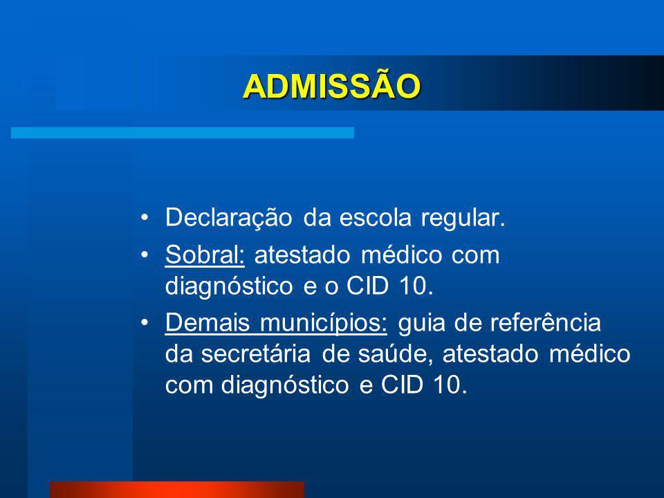 PÚBLICO ALVO O Centro prestará atendimento especializado à pessoas com deficiências com a finalidade de ampliar a oferta de atendimento educacional es