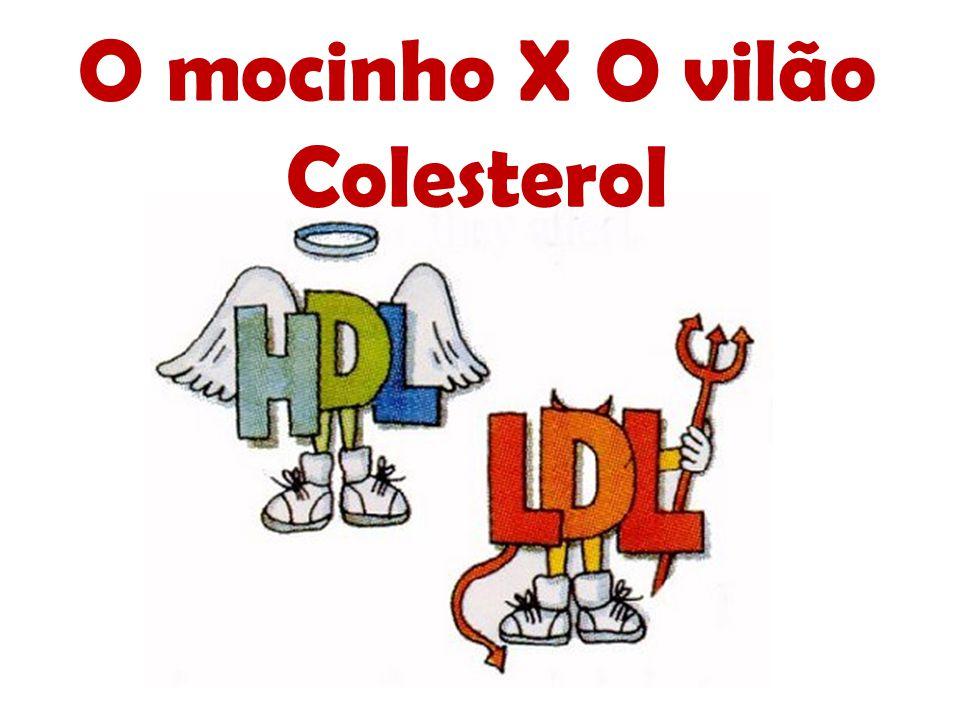 O mocinho X O vilão Colesterol