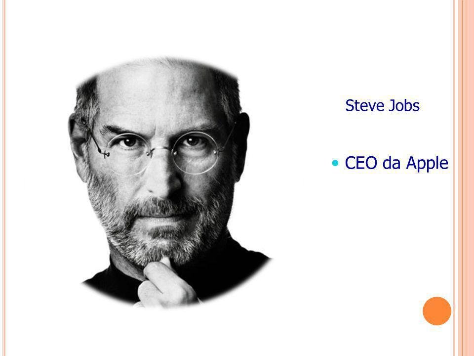 Steve Jobs CEO da Apple