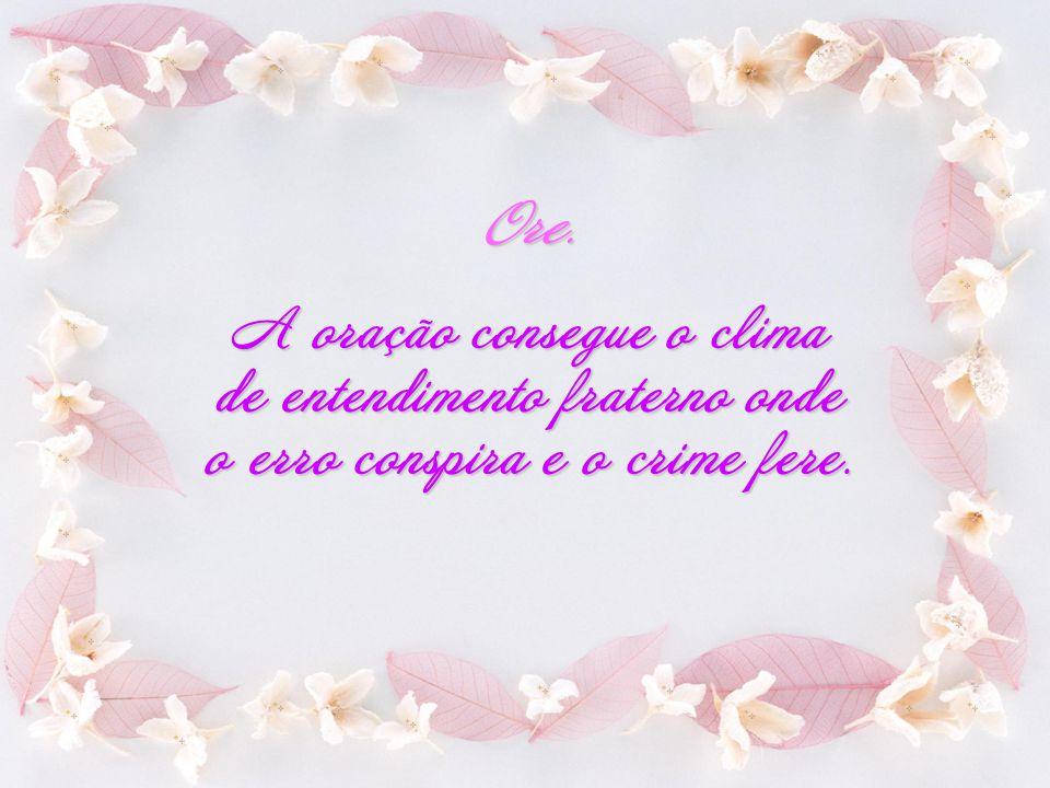 Créditos: Texto extraído do livro Legado Kardequiano de Divaldo Pereira Franco Imagem: Internet Formatação: Eliane http://lidavid.multiply.com