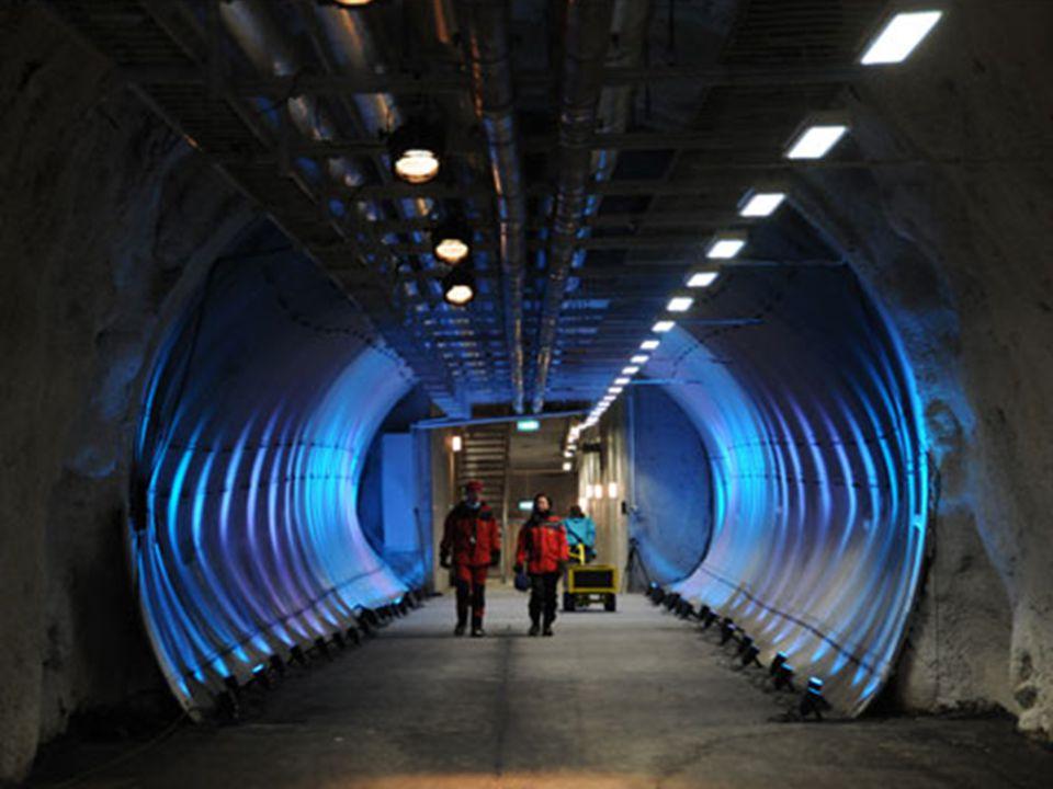 Junto à porta se encontram os compressores cuja função é esfriar o interior da arca.