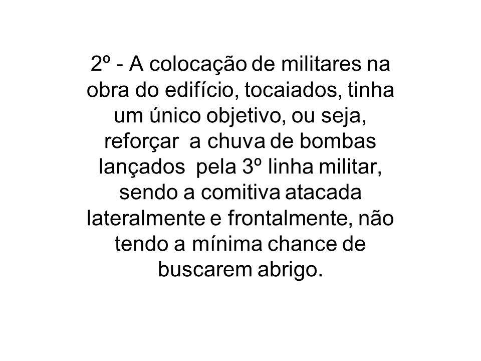 CONCLUSÕES 1º - O governador não queria dialogo com a comissão sindical e sim afastá-los do grosso dos manifestantes para serem massacrados pela tropa