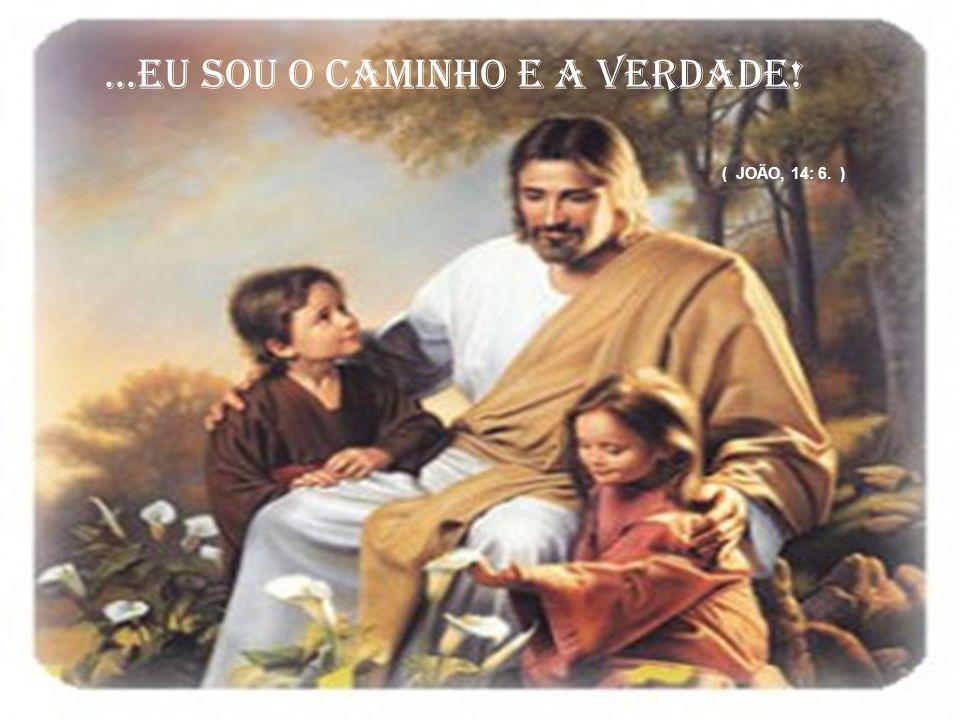 ...EU SOU O CAMINHO E A VERDADE! ( JOÃO, 14: 6. )
