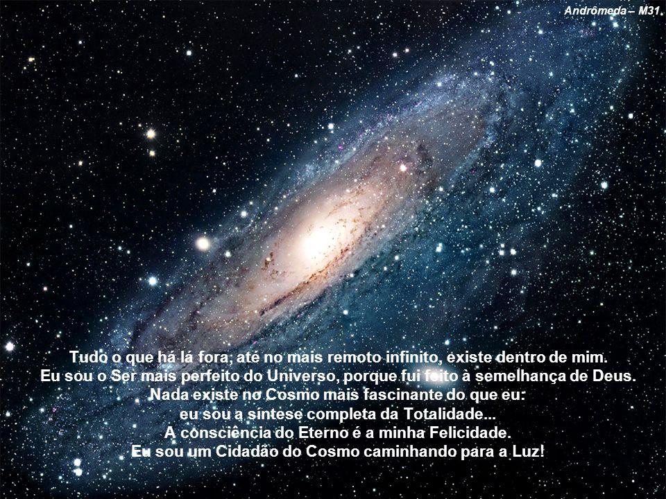 Eu sou um Cidadão do Cosmo caminhando para a Luz! Eu sou uma Centelha vibrante no corpo de Deus diferenciada. Eu sou uma célula divina no Corpo de meu