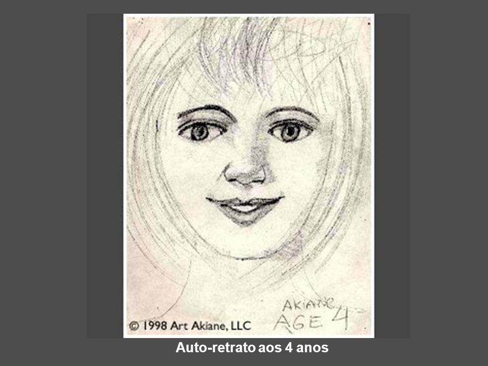 Auto-retrato aos 4 anos