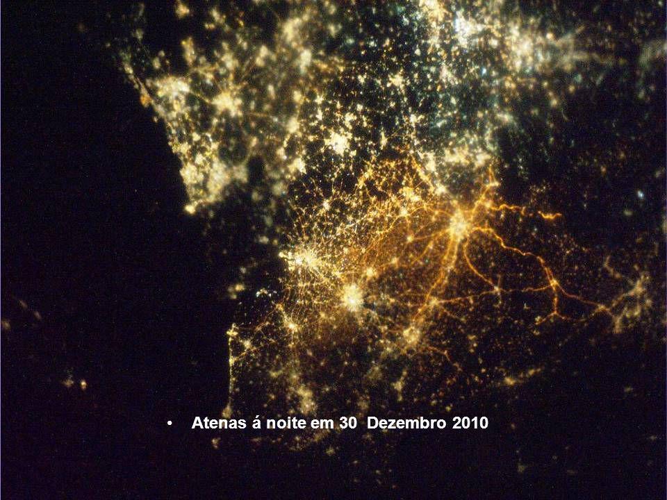 Veneza e arredores em 30 Dezembro 2010