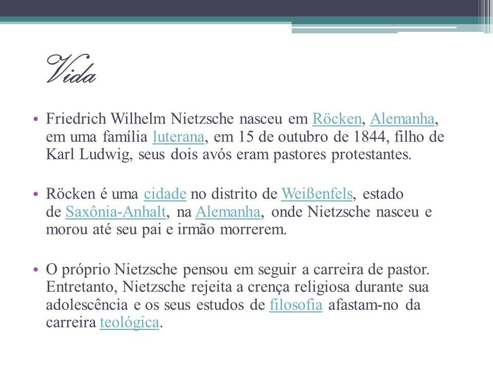 O rompimento com Wagner Em Nietzsche contra Wagner, escrito entre 188-1889, publicado em 1895, Nietzsche.