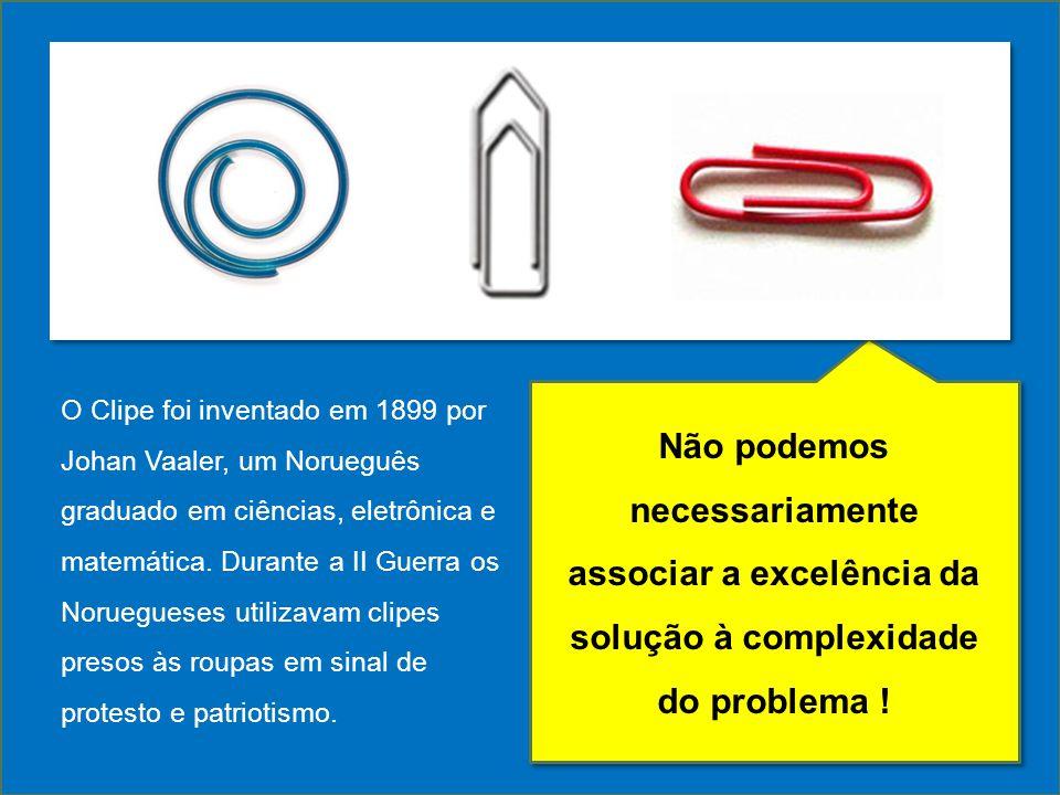 O Clipe foi inventado em 1899 por Johan Vaaler, um Norueguês graduado em ciências, eletrônica e matemática. Durante a II Guerra os Noruegueses utiliza