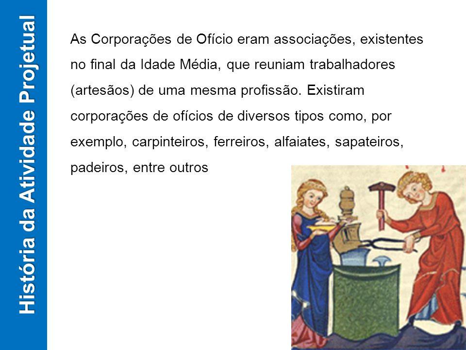 As Corporações de Ofício eram associações, existentes no final da Idade Média, que reuniam trabalhadores (artesãos) de uma mesma profissão. Existiram