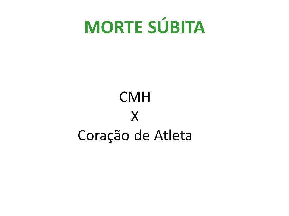 MORTE SÚBITA CMH X Coração de Atleta