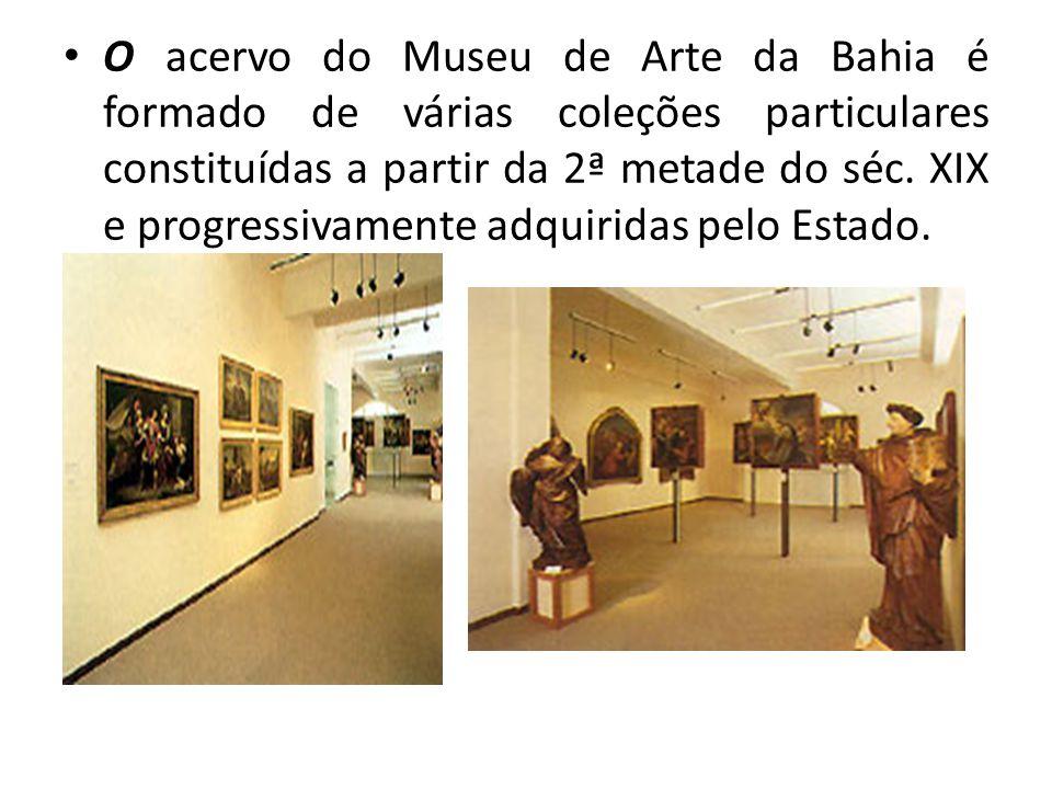O Museu de Arte da Bahia possui ainda no seu acervo, uma série de cerca de 200 desenhos de Carybé, datados de 1950, gravuras de renomados artistas brasileiros, e estrangeiros, além de fotografais antigas e importantes documentos históricos.