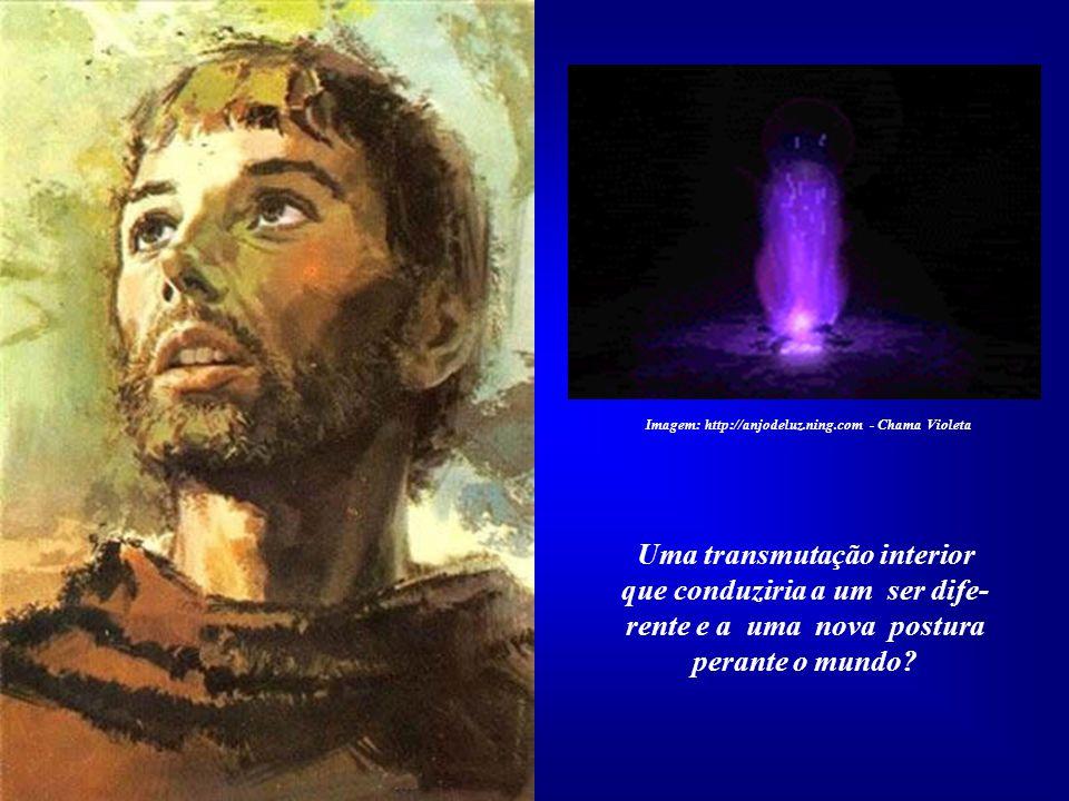 Eu Sou a magnitude manifestada na forma humana. Eu Sou Luz, Eu Sou Luz! Imagem: http://anjodeluz.ning.com - Chama Violeta