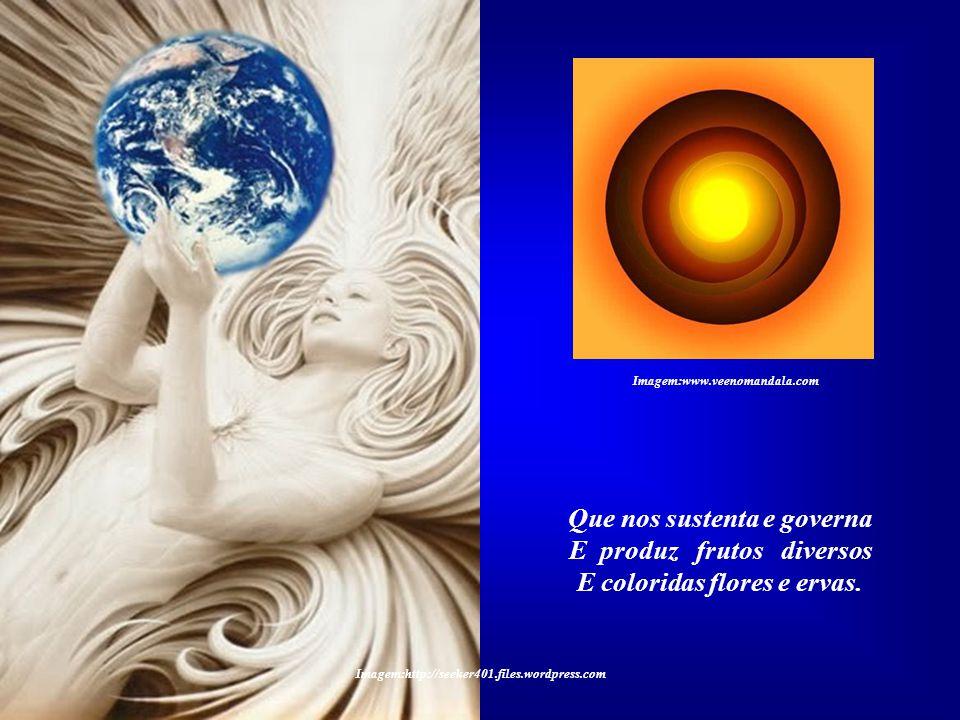 O ELEMENTO TERRA Louvado sejas, meu Senhor, Por nossa irmã a mãe Terra, Imagem:http://www.artisticgenius.com – Robert Donaghey Imagem: Mãe terra