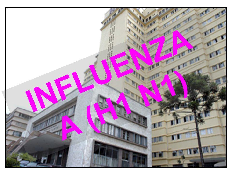 Alunos com sintomas de gripe - Devem permanecer em casa por 7 dias (crianças< 12 anos por 14 dias).