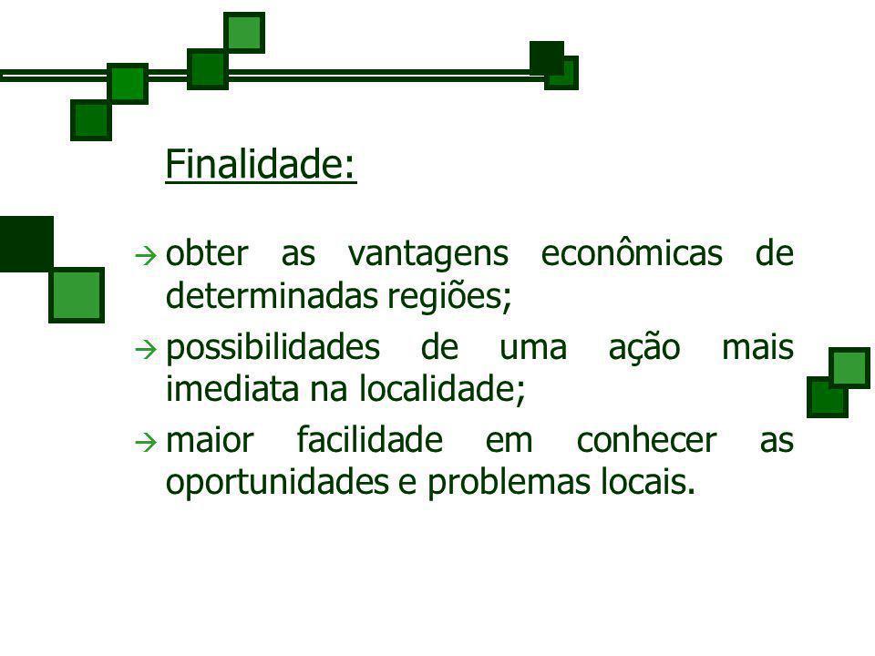 2. Departamentalização Territorial- Geográfica Geralmente utilizada em empresas territorialmente dispersas. É a diferenciação e agrupamento das ativid