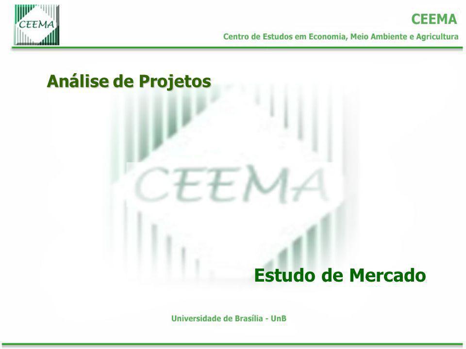 Análise de Projetos Como o bem ou o serviço será distribuído.
